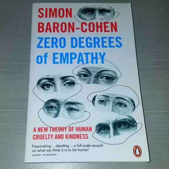 PAPERBACK BOOK Zero Degrees of Empathy
